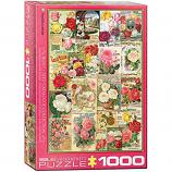 1000 Piece Puzzle - Roses - Seed Catalogue