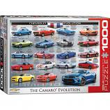 1000 Piece Puzzle - Chevrolet Camaro Evolution