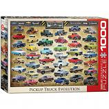 1000 Piece Puzzle - Pickup Truck Evolution