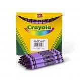 Bulk Crayons, Regular Size - Violet (Purple)