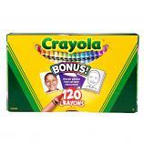 120 ct. Crayons - Non-Peggable